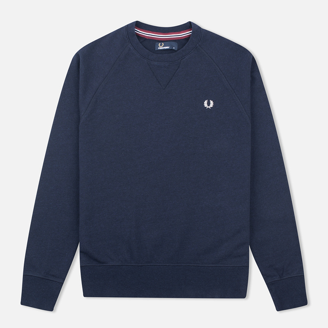 Fred Perry Loopback Neck Men`s Sweatshirt Navy