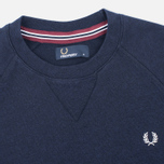 Fred Perry Loopback Neck Men`s Sweatshirt Navy photo- 1