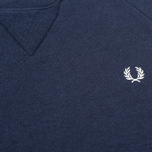 Fred Perry Loopback Neck Men`s Sweatshirt Navy photo- 2