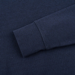 Fred Perry Loopback Neck Men`s Sweatshirt Navy photo- 3