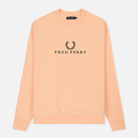 Мужская толстовка Fred Perry Monochrome Tennis Apricot