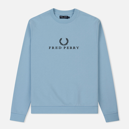 Мужская толстовка Fred Perry Monochrome Tennis Glacier