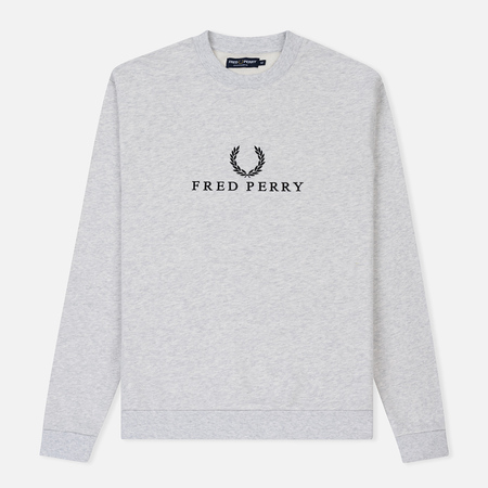Мужская толстовка Fred Perry Monochrome Tennis Light Marl