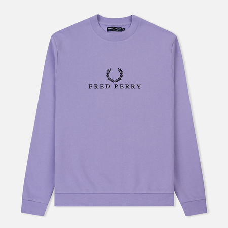 Мужская толстовка Fred Perry Monochrome Tennis Lilac
