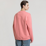 Мужская толстовка Fred Perry Oversized Archive Branding Embroidered Peach Blossom фото- 2