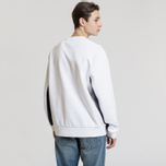 Мужская толстовка Fred Perry Panel Piped White фото- 2