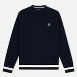 Мужская толстовка Fred Perry Sports Authentic Crew Neck Navy фото- 0