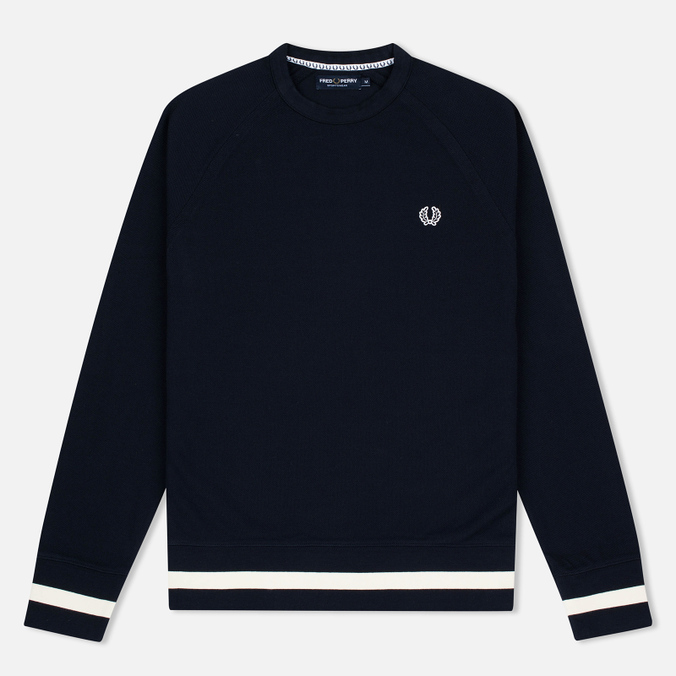Мужская толстовка Fred Perry Sports Authentic Crew Neck Navy