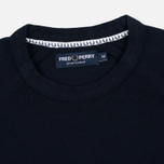 Мужская толстовка Fred Perry Sports Authentic Crew Neck Navy фото- 1