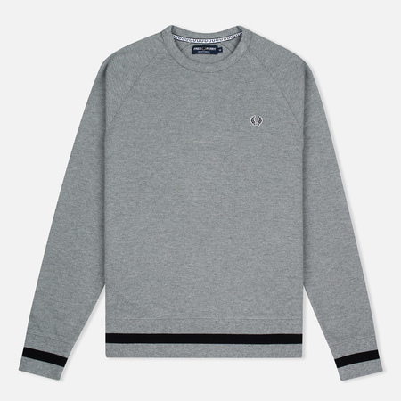 Мужская толстовка Fred Perry Sports Authentic Crew Neck Steel Marl
