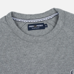 Мужская толстовка Fred Perry Sports Authentic Crew Neck Steel Marl фото- 1