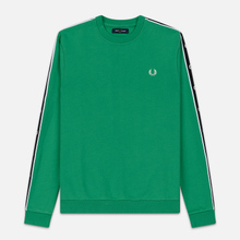Мужская толстовка Fred Perry Taped Shoulder Electric Green фото- 0