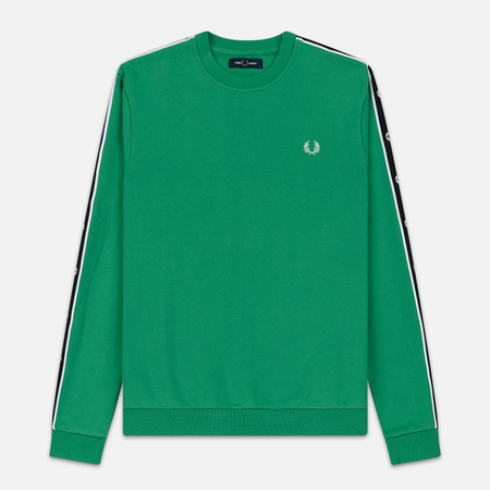 Мужская толстовка Fred Perry Taped Shoulder Electric Green