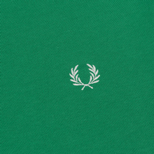 Мужская толстовка Fred Perry Taped Shoulder Electric Green фото- 2
