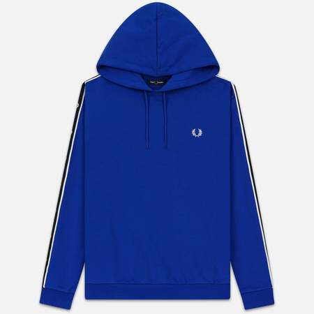 Мужская толстовка Fred Perry Taped Sleeve Hoodie Bright Regal