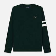 Мужская толстовка Fred Perry Tipped Sleeve Evergreen фото- 0