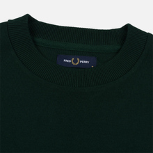 Мужская толстовка Fred Perry Tipped Sleeve Evergreen фото- 1