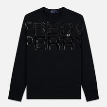 Мужская толстовка Fred Perry Vinyl Print Black фото- 0