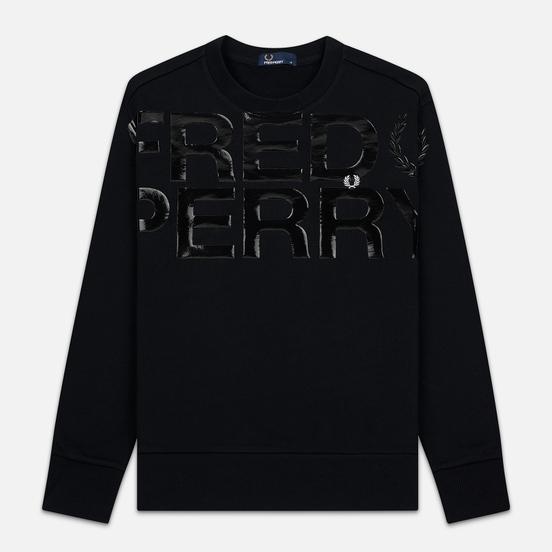 Мужская толстовка Fred Perry Vinyl Print Black