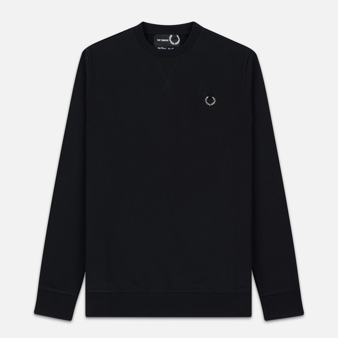 Мужская толстовка Fred Perry x Raf Simons Crew Neck Regular Fit Black