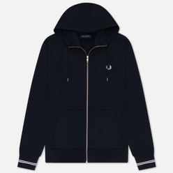 Мужская толстовка Fred Perry Zip Through Hoodie Navy