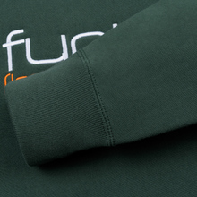Мужская толстовка Fuct Fuct LA Embroidered Crew Neck Alpine Green фото- 3