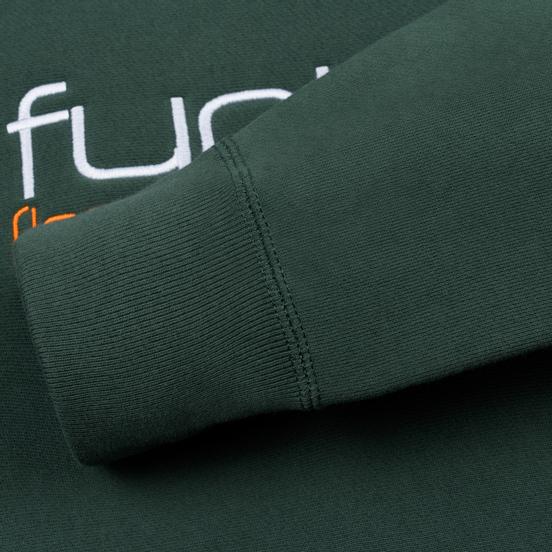 Мужская толстовка Fuct Fuct LA Embroidered Crew Neck Alpine Green