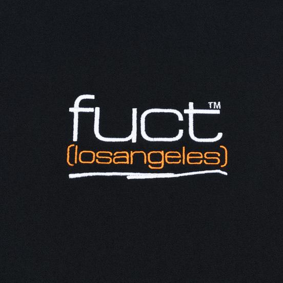 Мужская толстовка Fuct Fuct LA Embroidered Crew Neck Black