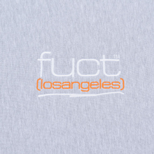 Мужская толстовка Fuct Fuct LA Embroidered Crew Neck Heather Grey фото- 2