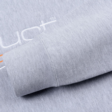 Мужская толстовка Fuct Fuct LA Embroidered Crew Neck Heather Grey фото- 3