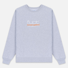 Мужская толстовка Fuct Fuct LA Embroidered Crew Neck Heather Grey фото- 0