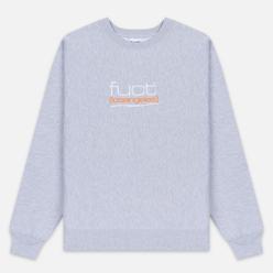 Мужская толстовка Fuct Fuct LA Embroidered Crew Neck Heather Grey