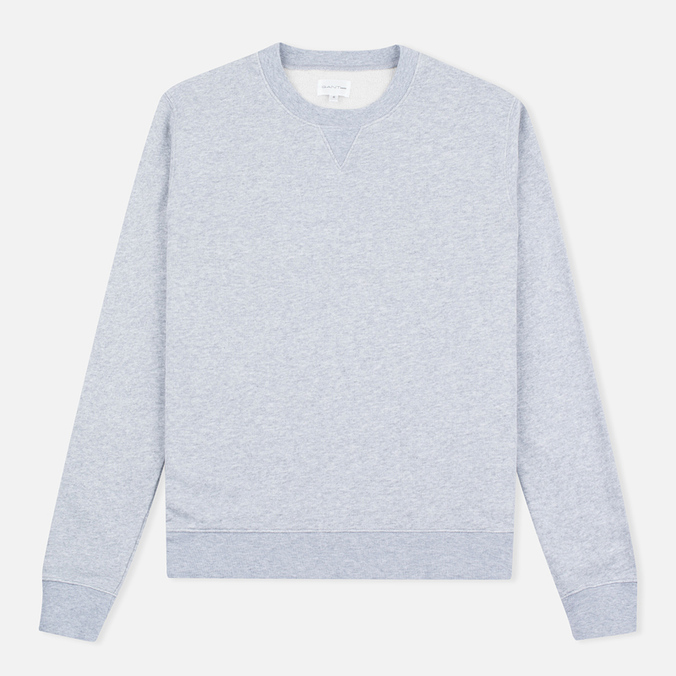 Мужская толстовка Gant Rugger Crewneck Light Grey Melange