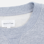 Мужская толстовка Gant Rugger Crewneck Light Grey Melange фото- 3