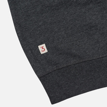 Мужская толстовка Hackett Logo HKT Crew Neck Charcoal фото- 4
