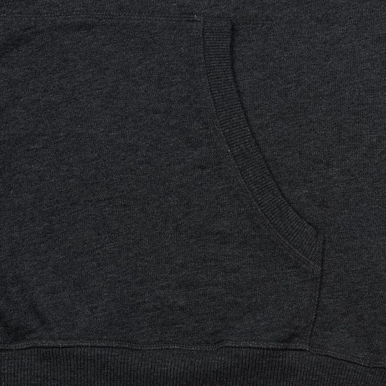 Мужская толстовка Hackett Logo HKT Hoodie Charcoal
