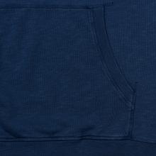 Мужская толстовка Hackett Logo HKT Hoodie Dark Blue фото- 4