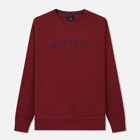 Мужская толстовка Hackett Mr. Classic Crew Neck Crimson