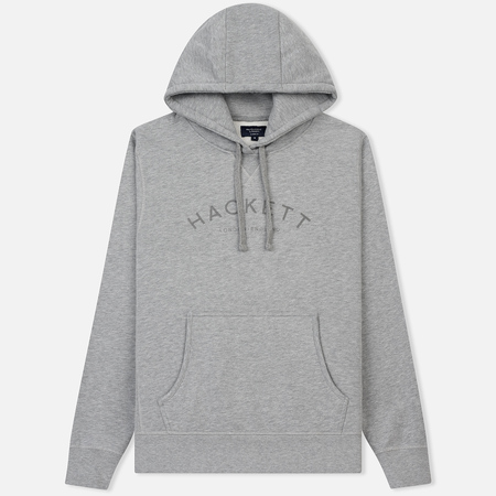 Мужская толстовка Hackett Mr. Classic Zip Hoody Light Grey Marl