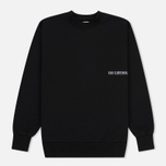 Мужская толстовка Han Kjobenhavn Casual Crew Chest Logo Black фото- 0