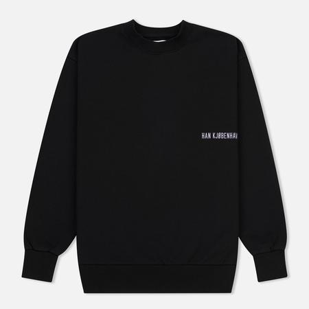 Мужская толстовка Han Kjobenhavn Casual Crew Chest Logo Black
