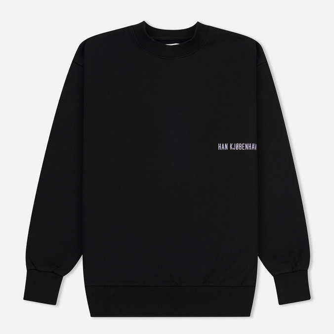 Мужская толстовка Han Kjobenhavn Casual Crew Chest Logo Black