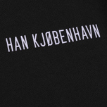 Мужская толстовка Han Kjobenhavn Casual Crew Chest Logo Black фото- 2