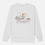Мужская толстовка Han Kjobenhavn Casual Crew Chest Logo White фото- 0