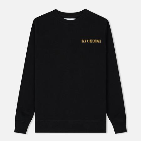Мужская толстовка Han Kjobenhavn Casual Crew Logo Black