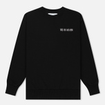 Мужская толстовка Han Kjobenhavn Crew Neck Embroidery Black фото- 0