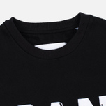 Han Kjobenhavn Crew Neck Logo Men`s Sweatshirt Black photo- 1