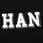 Han Kjobenhavn Crew Neck Logo Men`s Sweatshirt Black photo- 2
