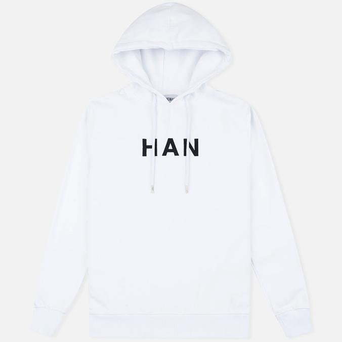 Мужская толстовка Han Kjobenhavn Embroidery Logo White