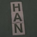 Мужская толстовка Han Kjobenhavn Logo Crew Neck Green фото- 2